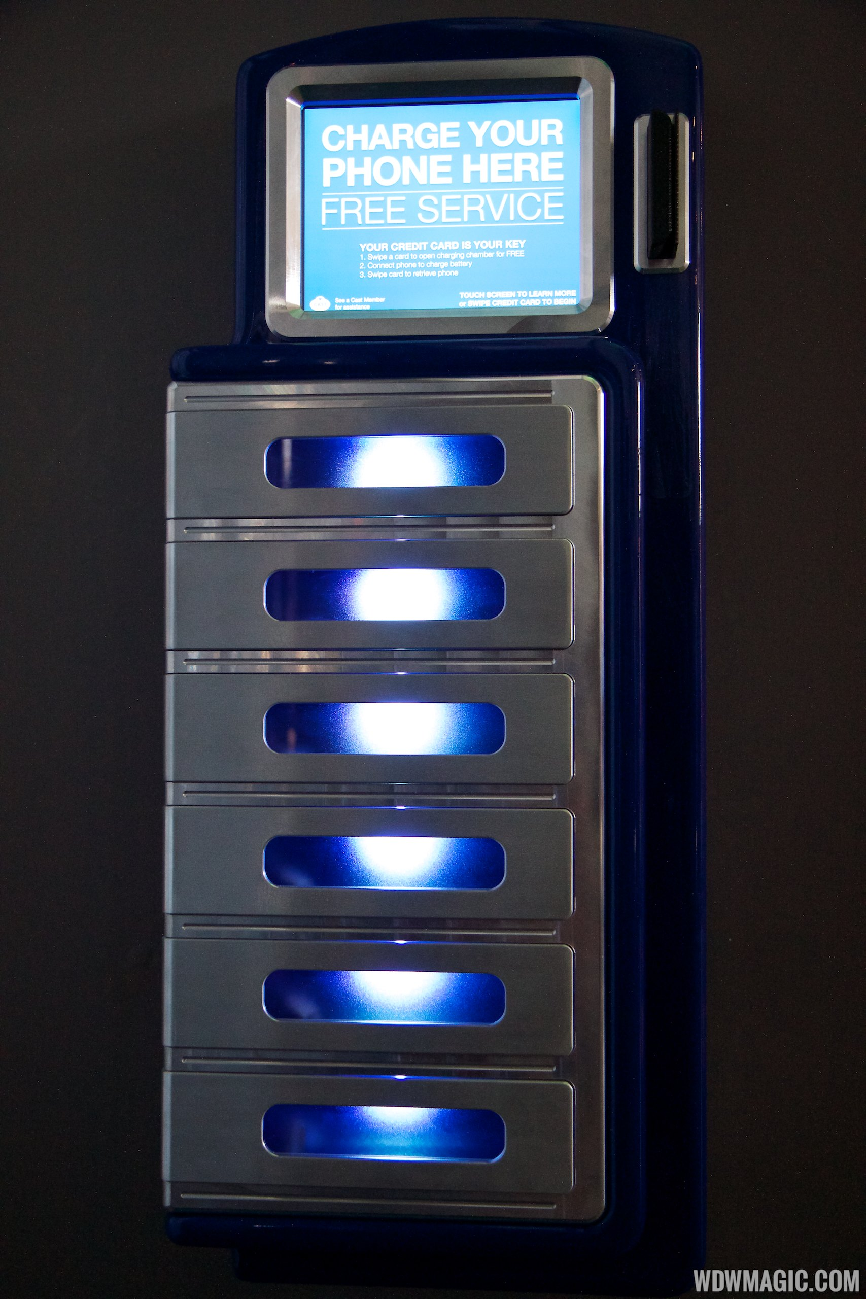 The charging lockers