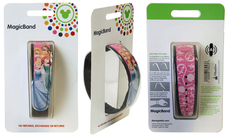 New packaging for MagicBands