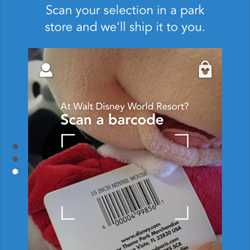 Shop Disney Parks app screenshots