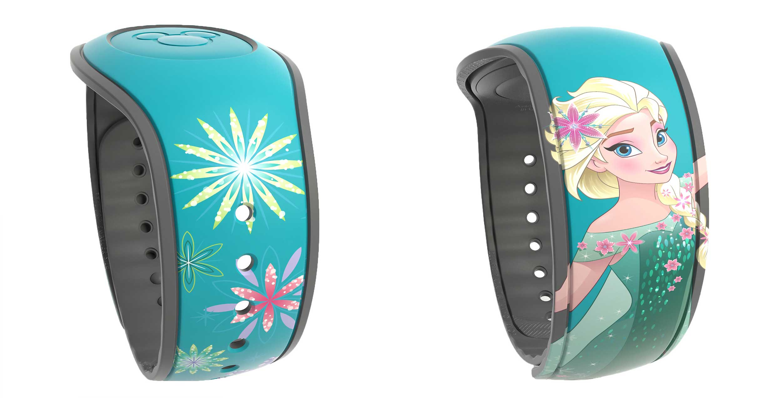Black and Teal MagicBand 2