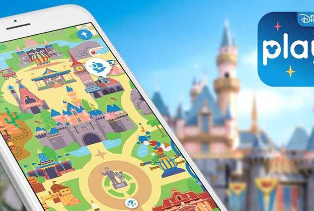 Play Disney Parks app screenshot