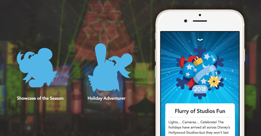 Play Disney Parks app holiday enhancements