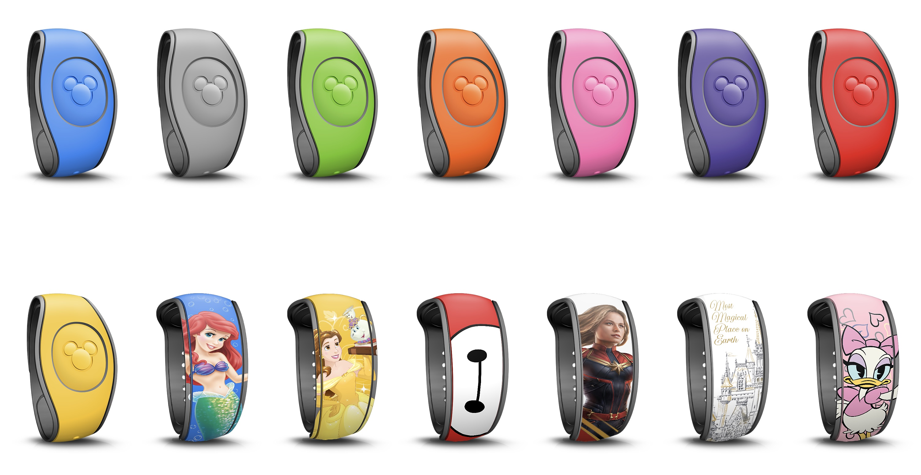 MagicBands quickly became ubquitos at Walt Disney World