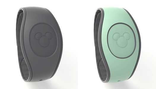 PHOTOS - Dark Gray and Mint Green MagicBands coming to Walt Disney World this month