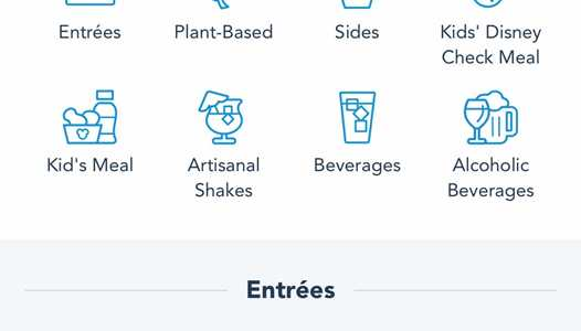 My Disney Experience Mobile Order adds Arrival Window, Apple Pay and Gift Cards