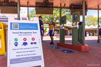 Disney surveying Magic Kingdom facial recognition participants