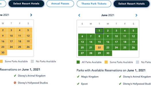 Disney World Park Pass availability greatly expanded for June 2021
