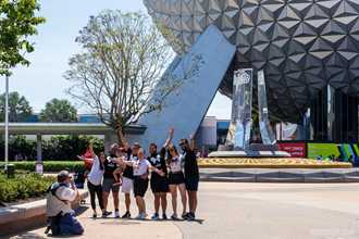 Mask-free photos begin at Walt Disney World theme parks
