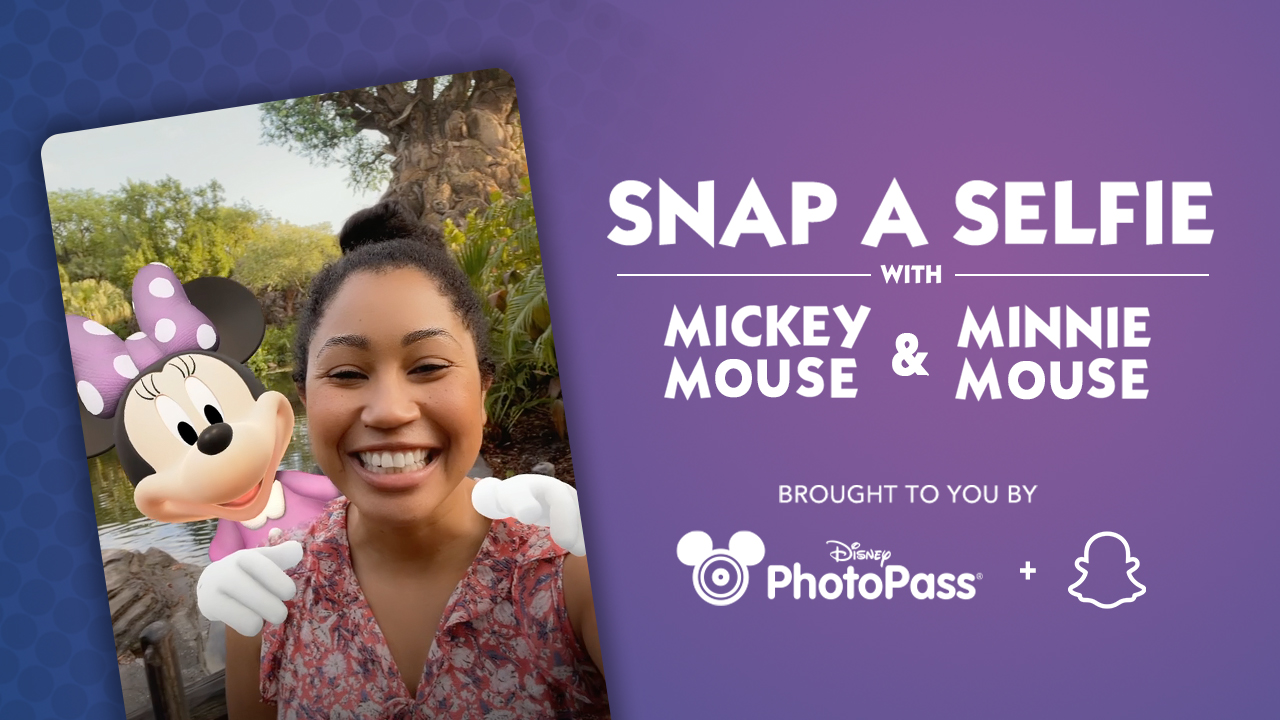 Disney PhotoPass and Snapchat