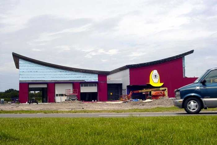 The new Reedy Creek Fire Department building