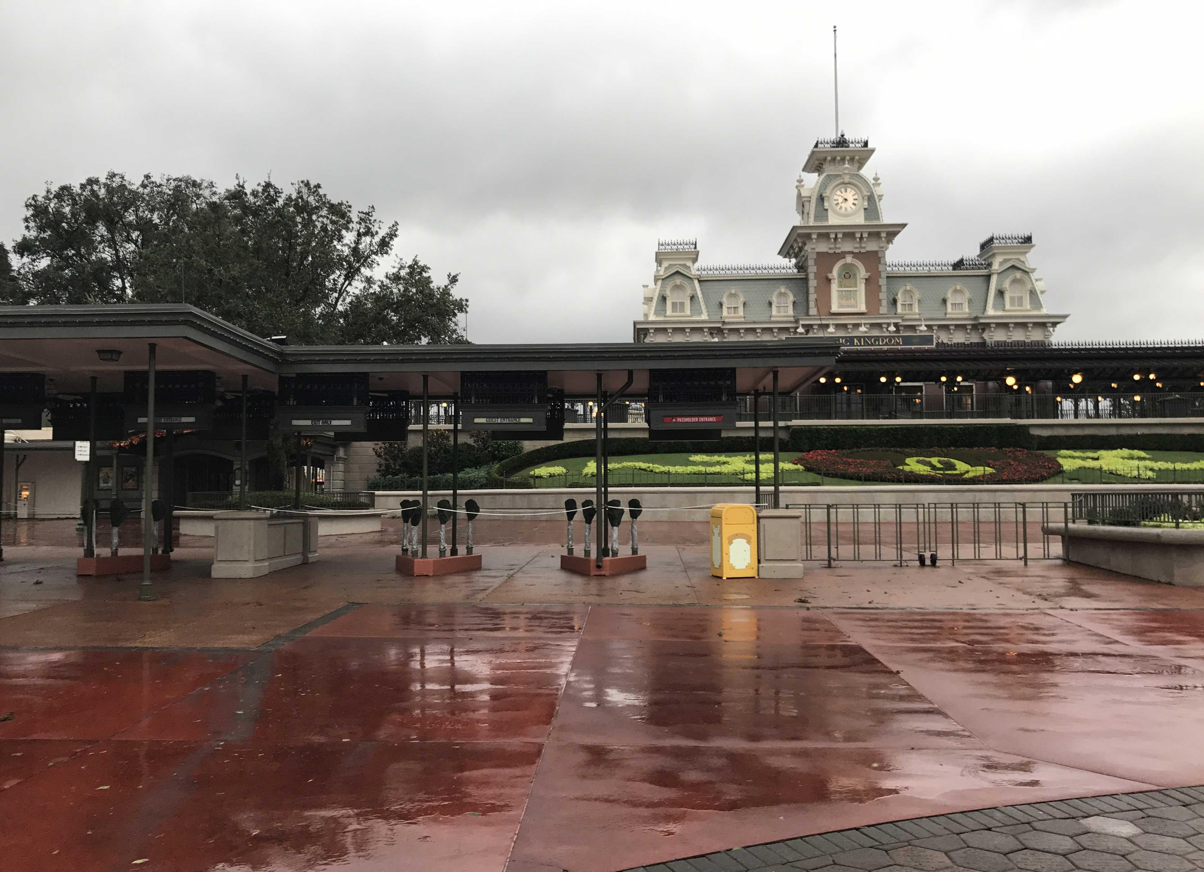 Magic Kingdom post Irma