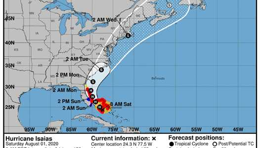 Walt Disney World remains under a Tropical Storm Warning as Hurricane Isaias approaches