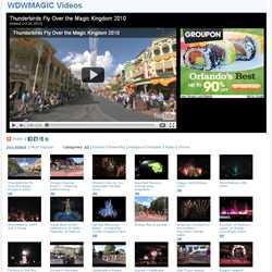 """WDWMAGIC Videos"" screenshots"