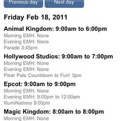 WDWMAGIC Screenshots - FREE iPhone and iPod Touch app from WDWMAGIC