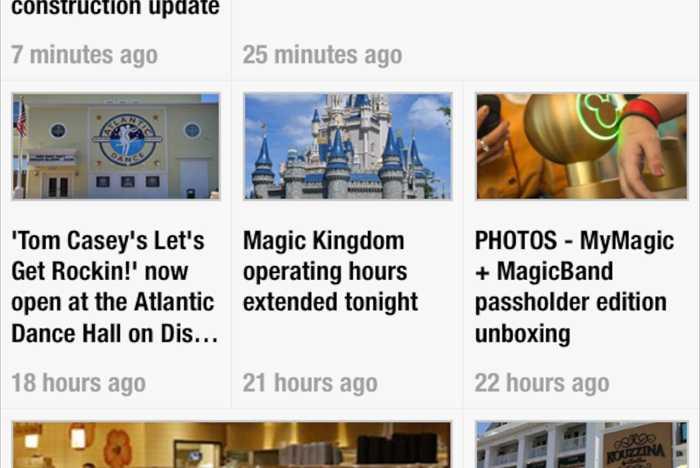 WDWMAGIC RSS screenshots