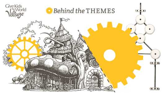 Support Give Kids The World Village with their new 'Behind The Themes' tour series
