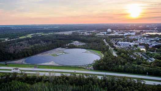 Walt Disney World to boost its solar power capacity with two new 75MW solar facilities
