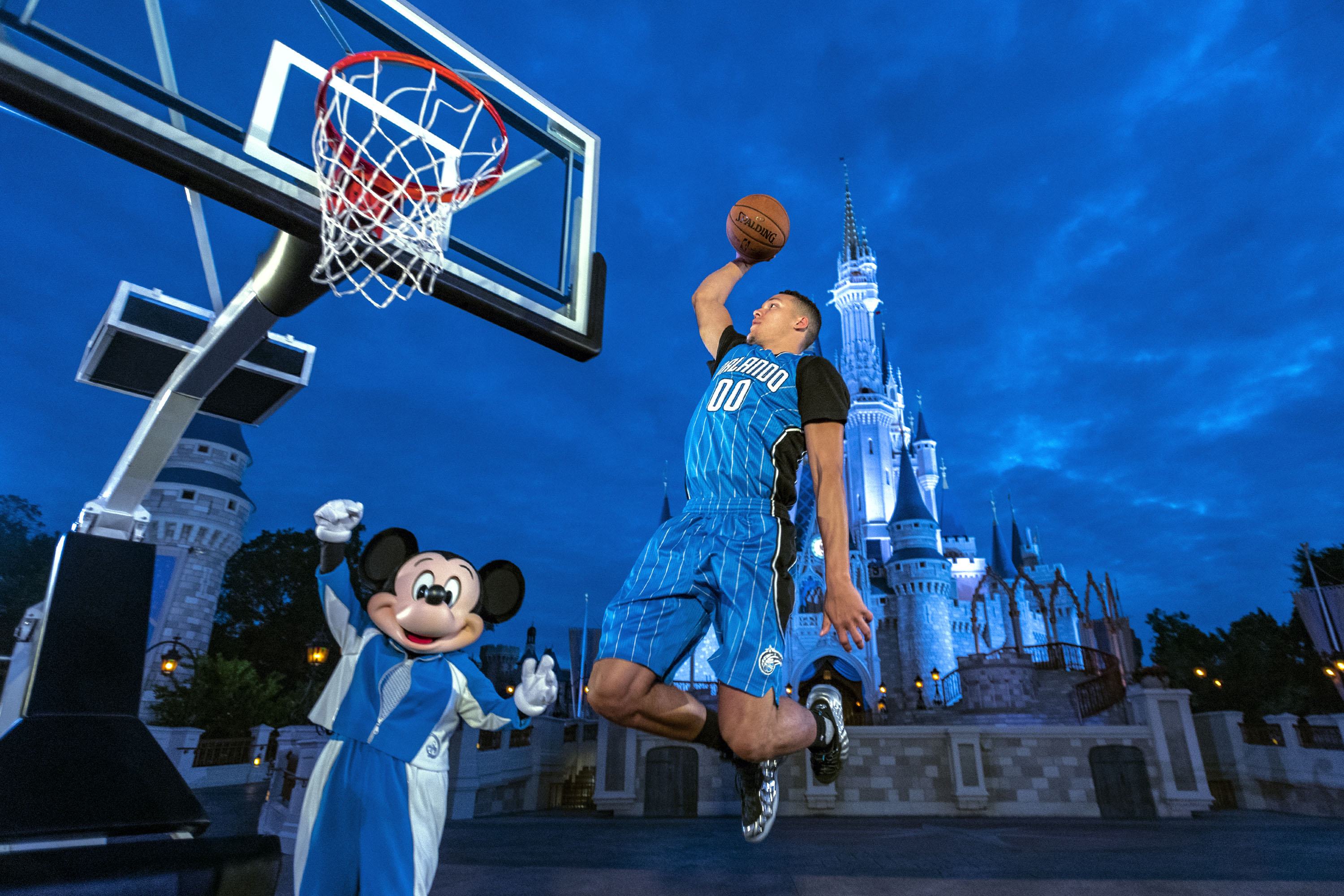 Walt Disney World Resort Orlando Magic jersey sponsorship