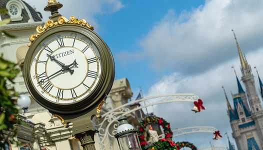 PHOTOS - Disney and Citizen unveil new Mickey timepieces and in-park clock branding at Walt Disney World