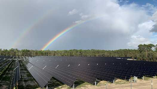 VIDEO - Disney's new 270-acre solar facility is now in operation
