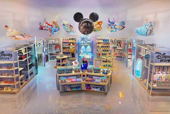 Target Disney Store shop-in-shop