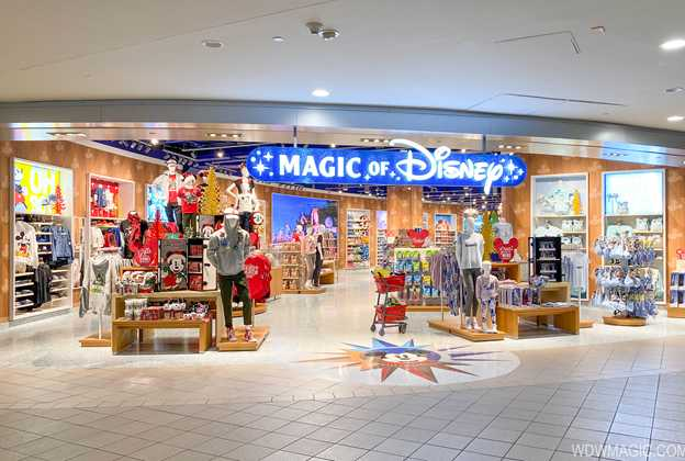 Magic of Disney store at Orlando International Airport East Hall