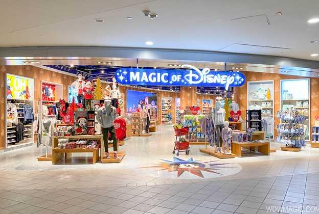 Magic of Disney store at Orlando International Airport East Hall