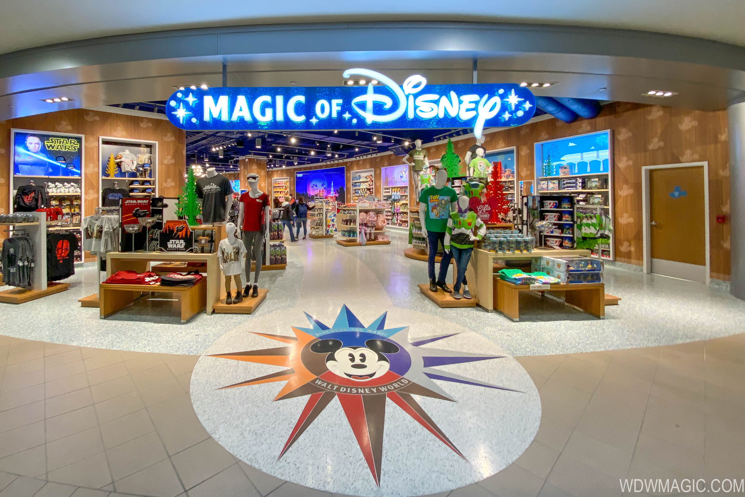 The Magic of Disney Store at Orlando International Airport