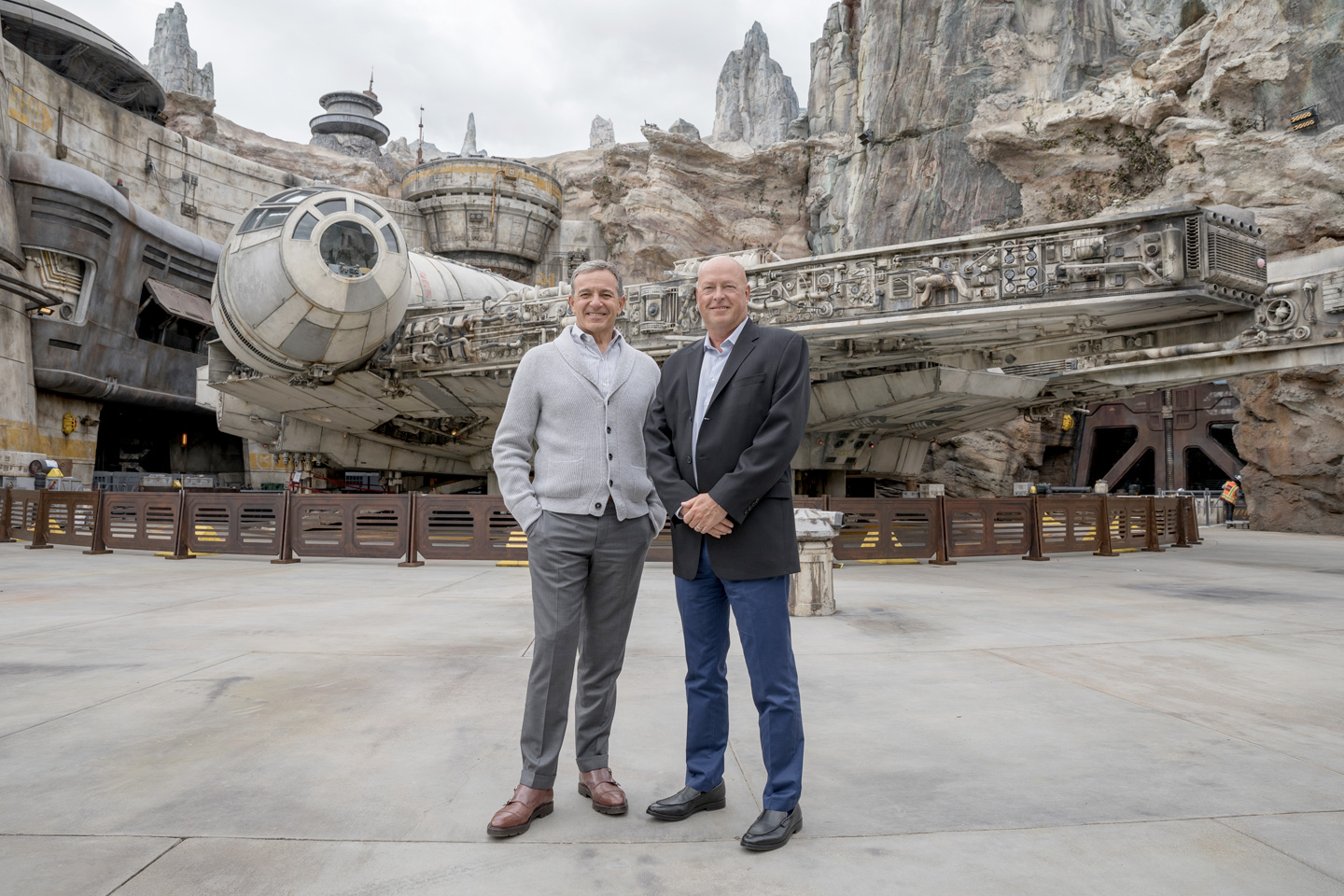 Bob Iger (left) Executive Chairman through December 31 2021, Bob Chapek (right) current Disney CEO