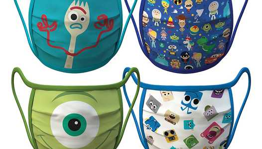 Disney begins selling cloth face masks featuring Disney characters