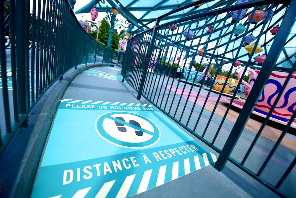 Disenyland Paris reopening