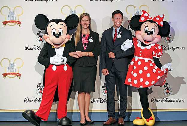 Walt Disney World Ambassadors - Marilyn West and Stephen Lim