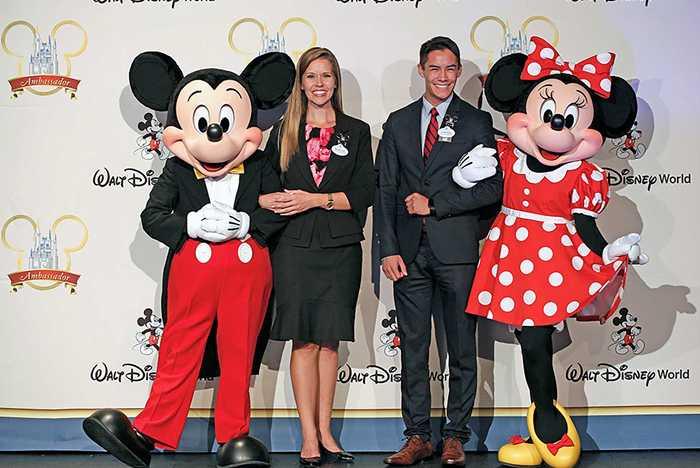 Walt Disney World Ambassadors - Marilyn West and Stephen Lim