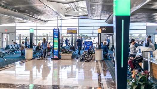 Orlando International Airport testing radar-based crowd density monitoring to help passengers avoid crowded areas