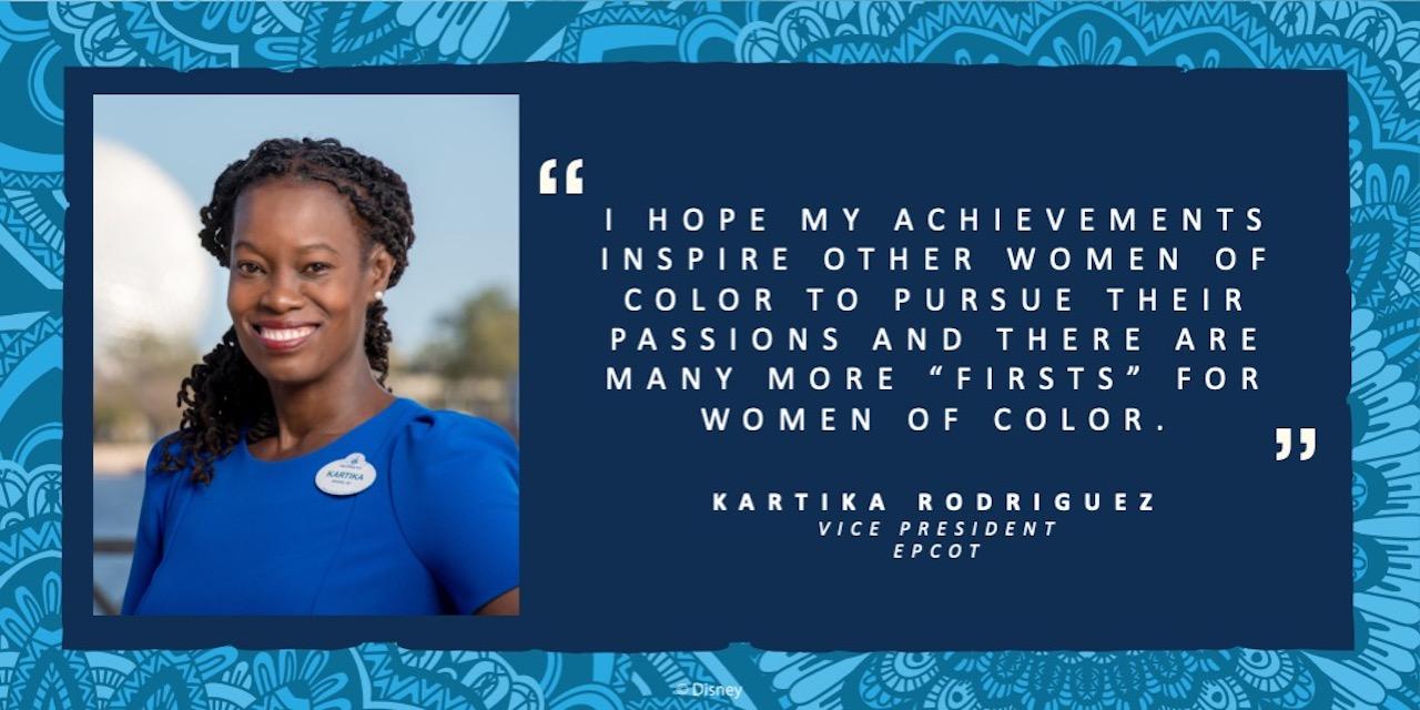 Kartika Rodriguez, Vice President EPCOT