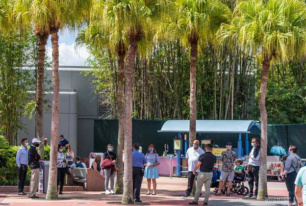 Cast Member orientation at EPCOT
