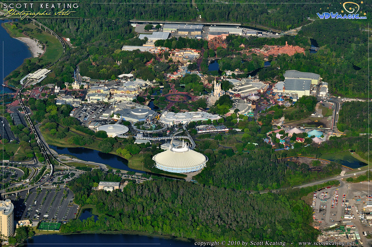 Walt Disney World Aerial Photos
