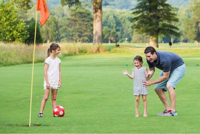 FootGolf at Disney's Oak Trail