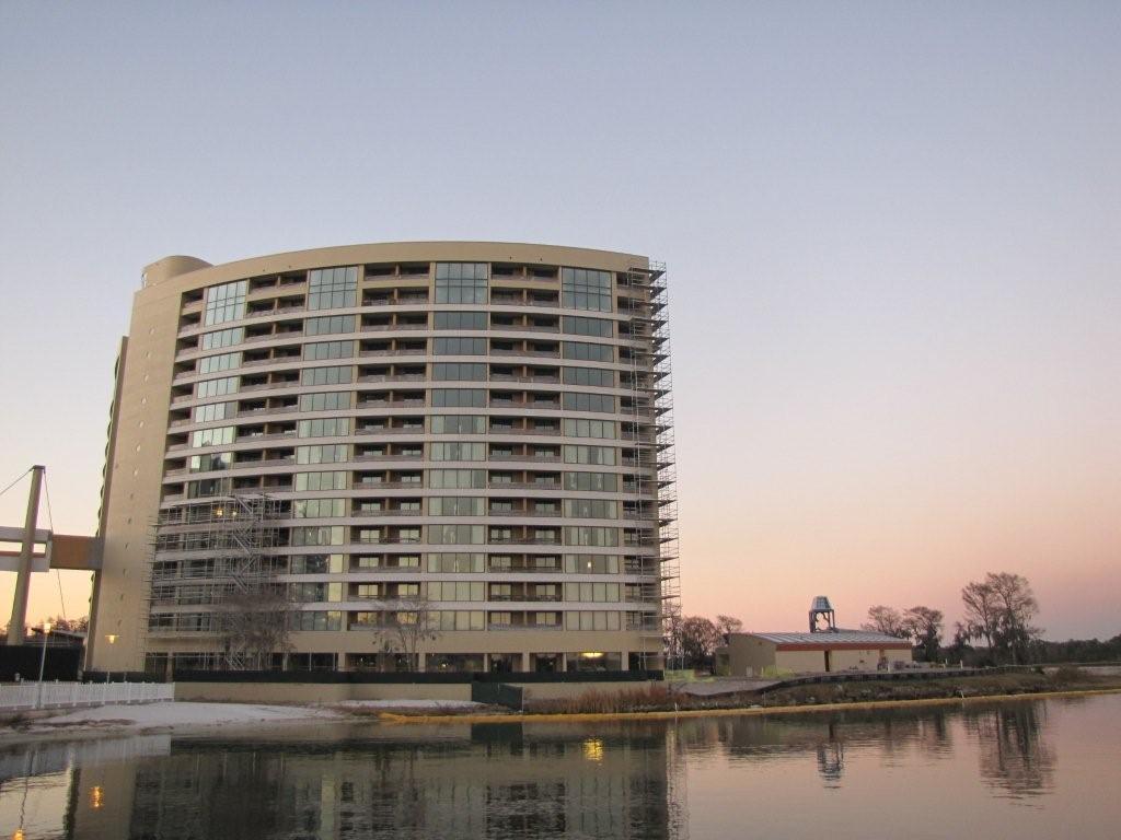 Latest Bay Lake Tower construction photos