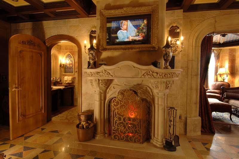 Cinderella Castle Suite interior