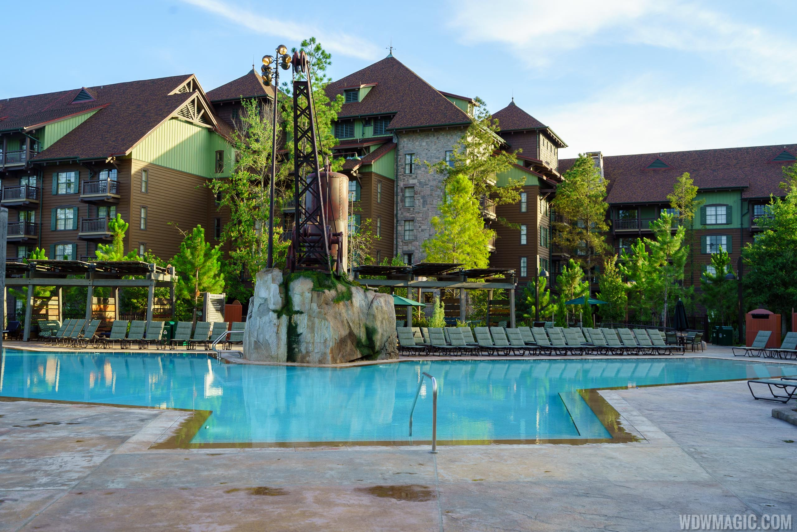 7 Bedroom Vacation Homes In Orlando Photos The New Boulder Ridge Cove Pool At Disney S