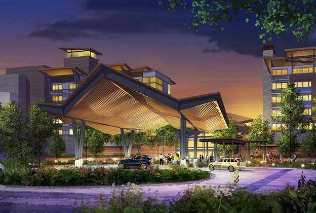 Nature-Inspired Resort concept art
