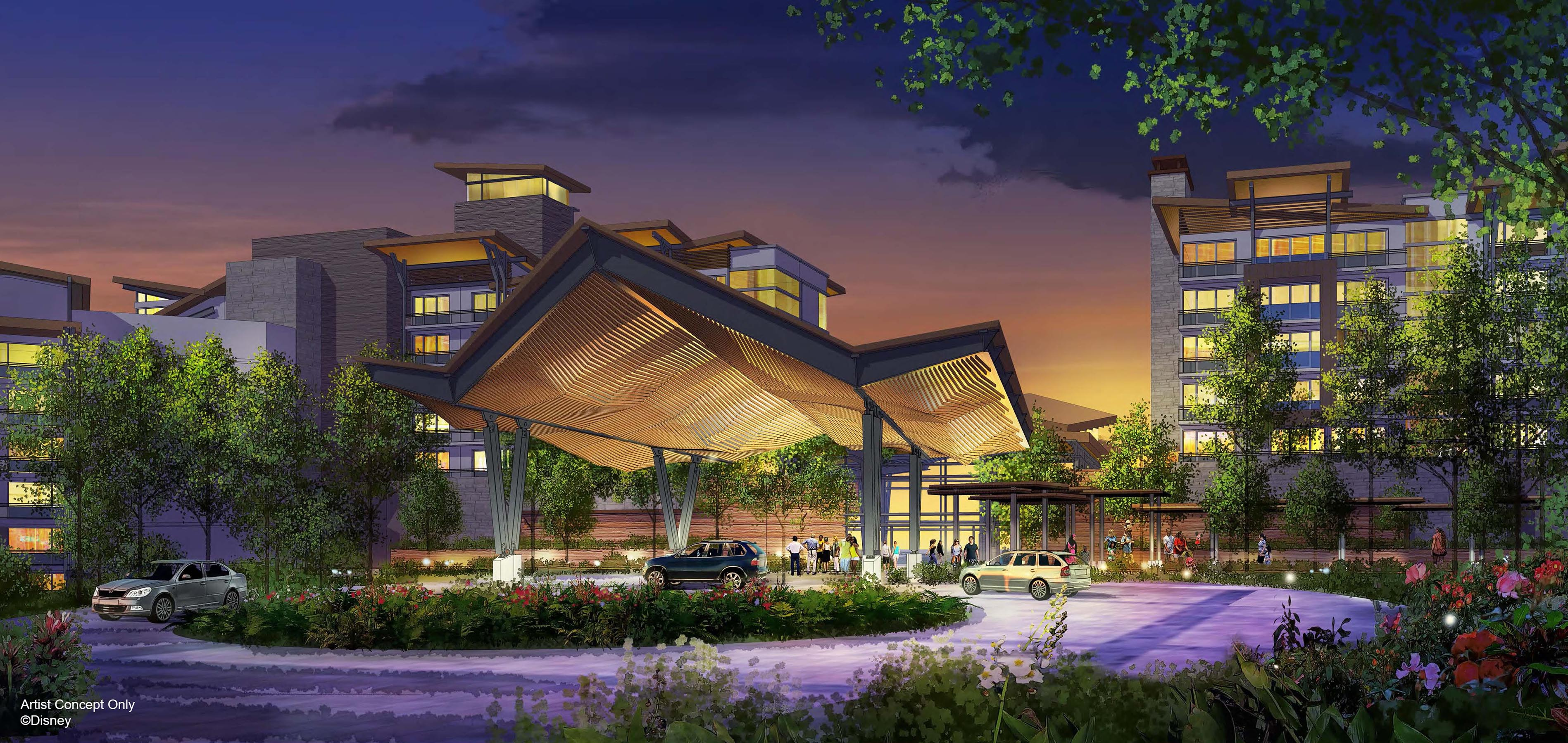 Nature-Inspired Resort concept art