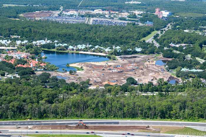 Disney Riviera Resort construction