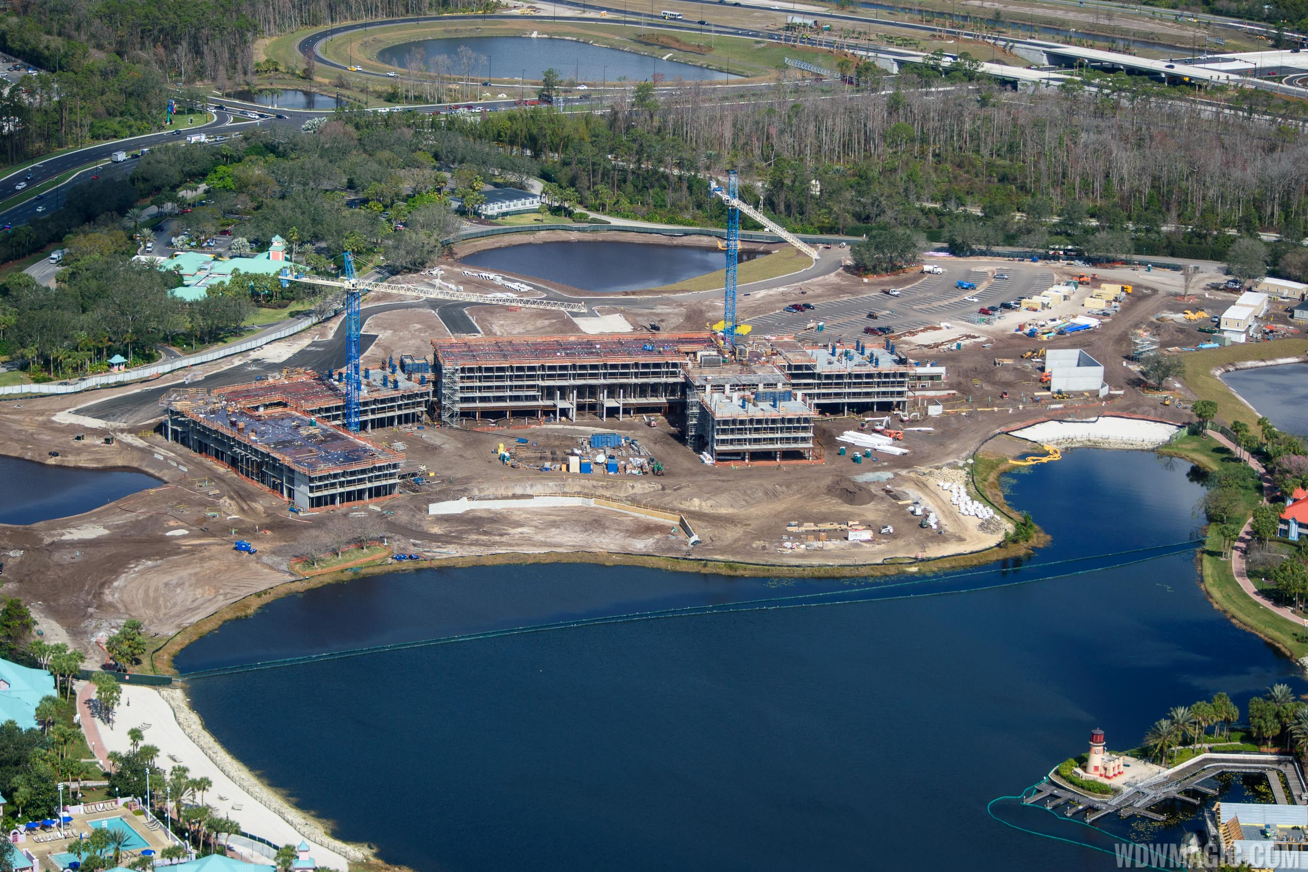 PHOTOS - Latest look at the Disney Riviera Resort under construction