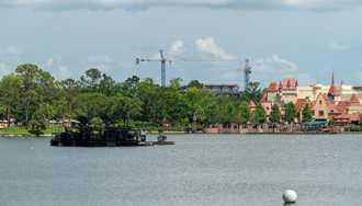 PHOTOS - Disney Riviera Resort viewed from inside Epcot