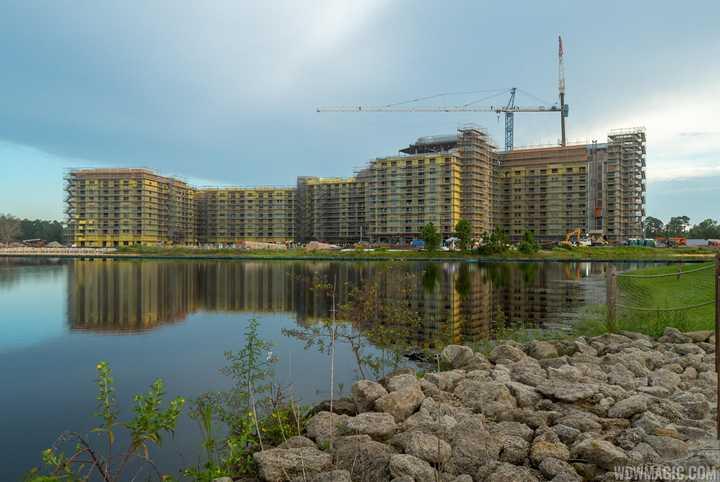 PHOTOS - Disney Riviera Resort construction