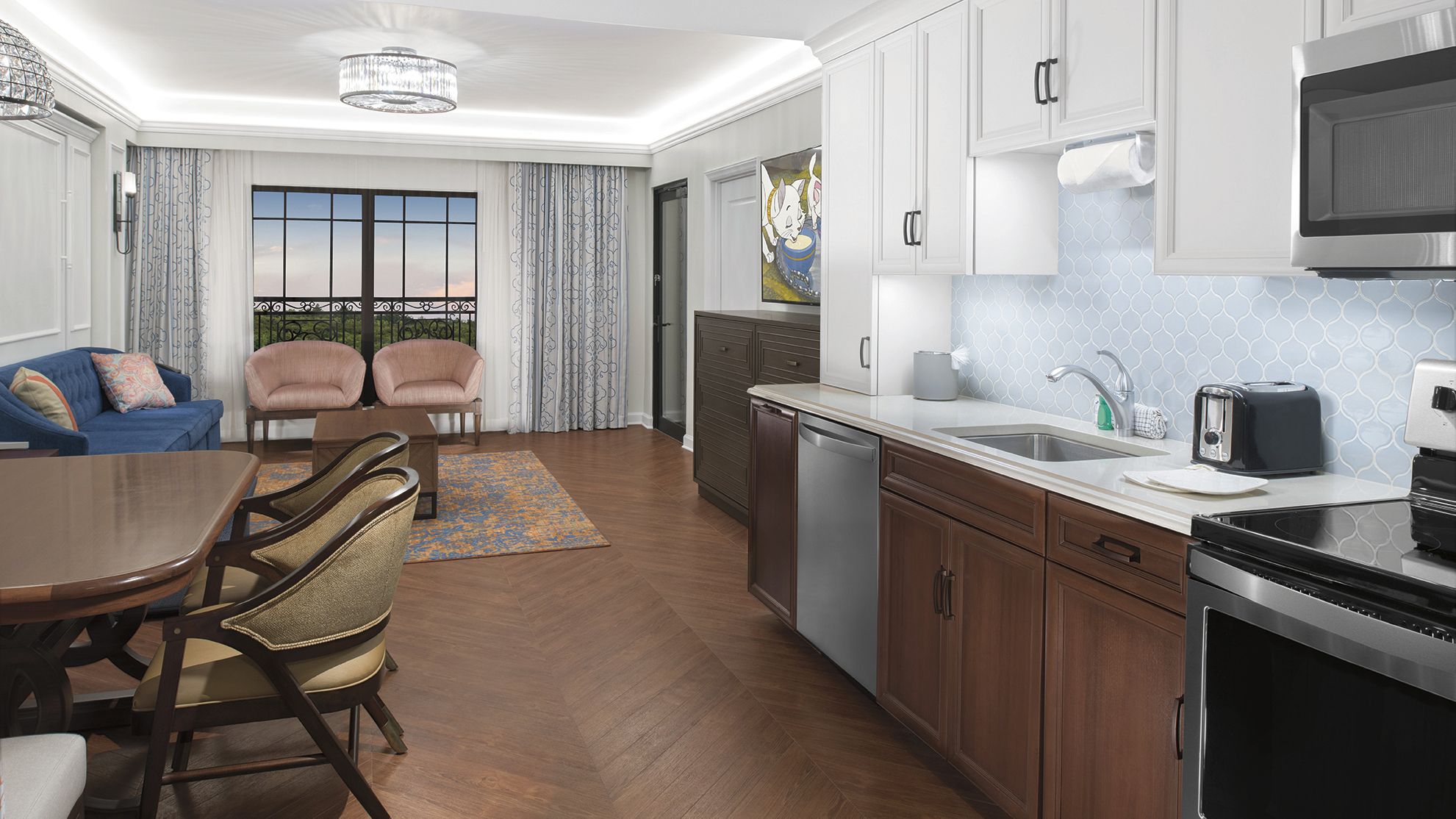 Disney Riviera Resort concept art - 2 Bedroom Villa