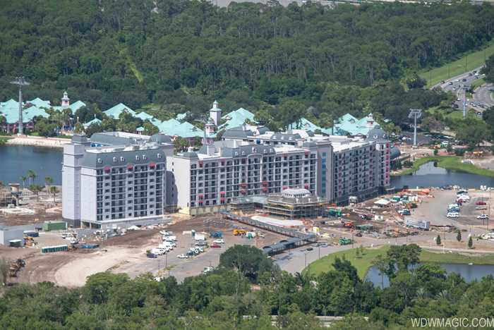 Disney Riviera construction from the air - July 2019