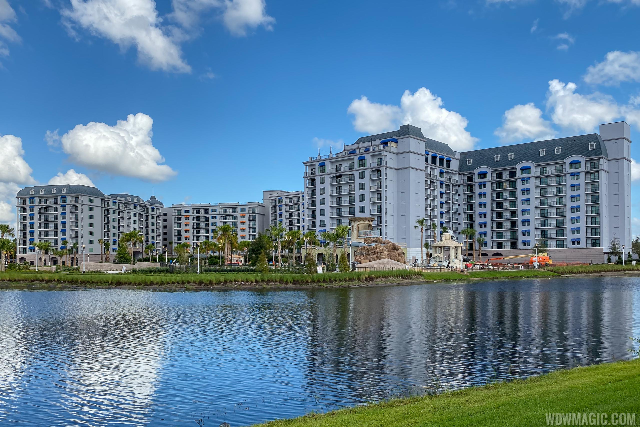 Disney's Riviera Resort construction - September 2019